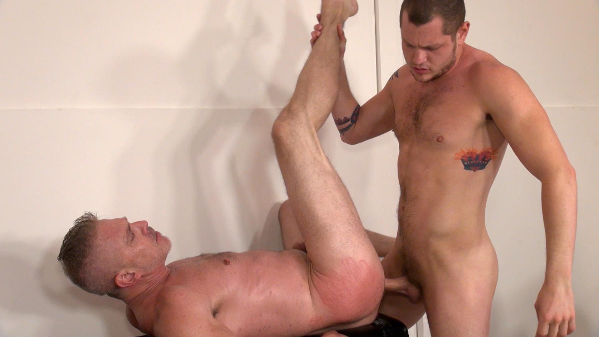 Raw and Rough Sam Dixon and Blue Bailey Daddy And Boy Flip Flip Bareback Fucking Amateur Gay Porn 03 Blue Bailey Flip Flop Barebacking With A Hung Daddy