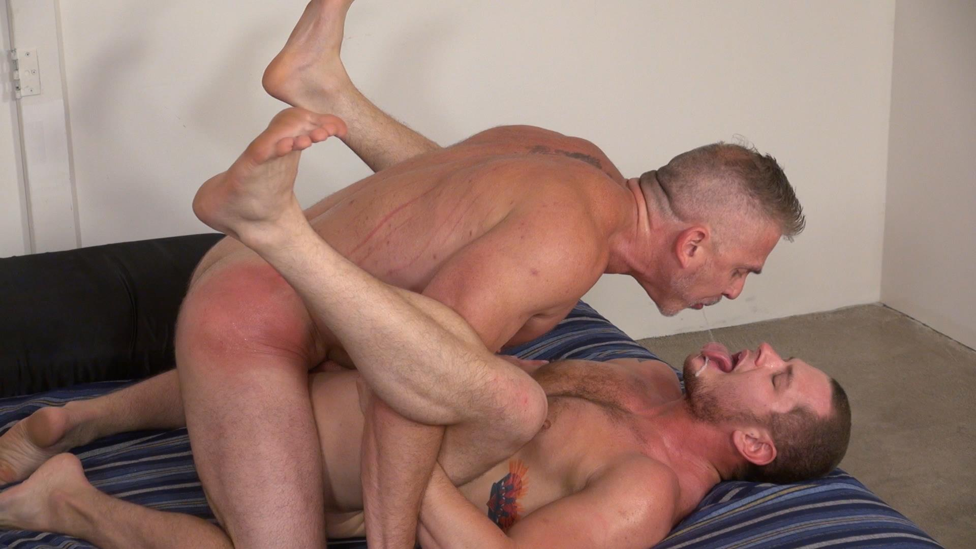 Raw and Rough Sam Dixon and Blue Bailey Daddy And Boy Flip Flip Bareback Fucking Amateur Gay Porn 06 Blue Bailey Flip Flop Barebacking With A Hung Daddy