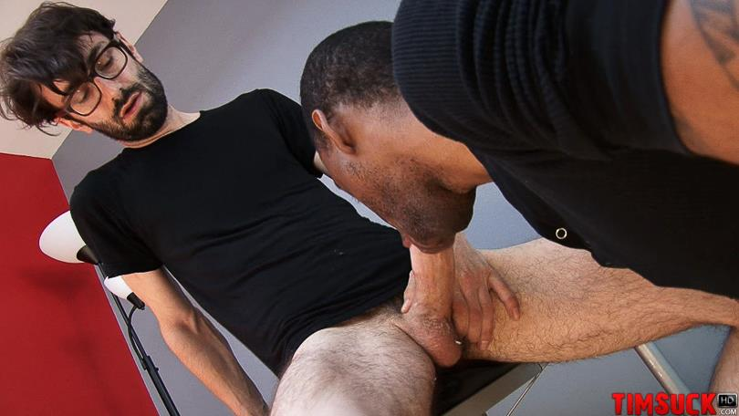 Treasure-Island-Media-TimSUCK-Rogan-Hardy-and-James-Chance-Black-Guy-Sucking-A-Thick-White-Cock-Amateur-Gay-Porn-5 Hung Black Guy Sucking A Thick White Cock And Eating The Cum