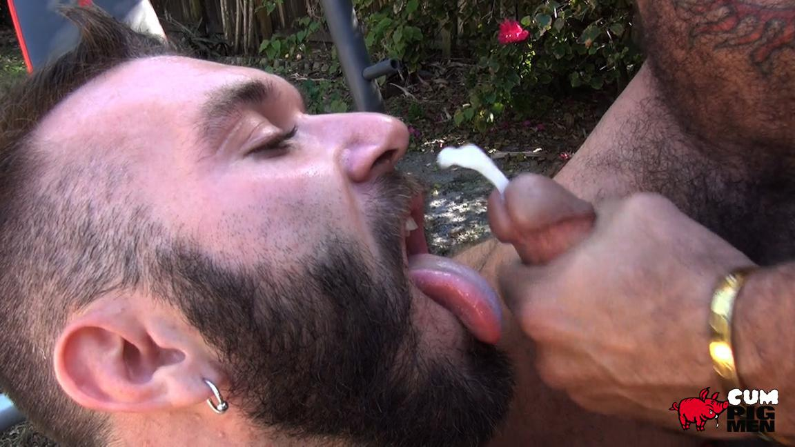 gay men playing with toy porn