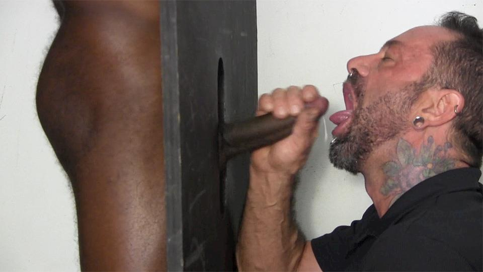 Straight-Fraternity-Tyler-Big-Black-Uncut-Cock-At-The-Gloryhole-Amateur-Gay-Porn-10 Young Black Muscle Stud Gets His Big Black Uncut Cock Sucked At The Gloryhole