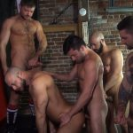 Raw-Fuck-Club-Dylan-Strokes-and-Scott-DeMarco-and-Jack-Andy-and-Jessie-Colter-and-Teddy-Bryce-Bareback-Sex-Video-01-150x150 Jessie Colter's First Bareback Gangbang At A Sleazy Bathhouse